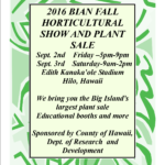 BIAN President Sean Spellicy promises Big Island growers are prepared to put on another great sale